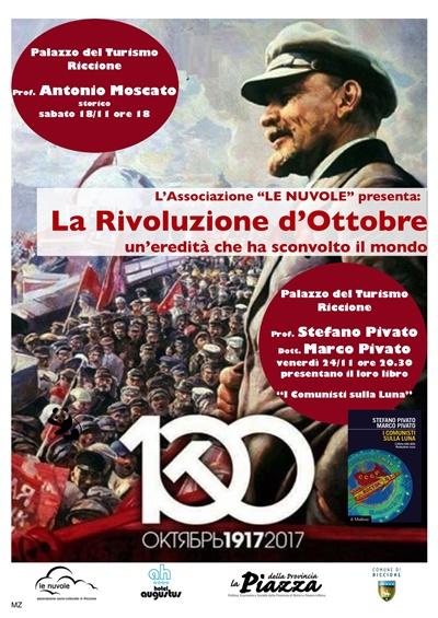 Incontro pubblico: LA RIVOLUZIONE D'OTTOBRE, 1917-2017