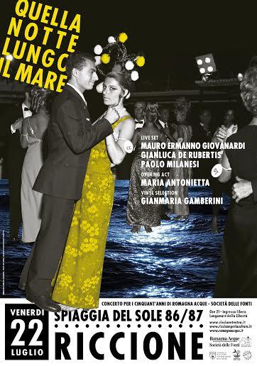 Concerto spettacolo con Mauro Ermanno Giovanardi e Maria Antonietta