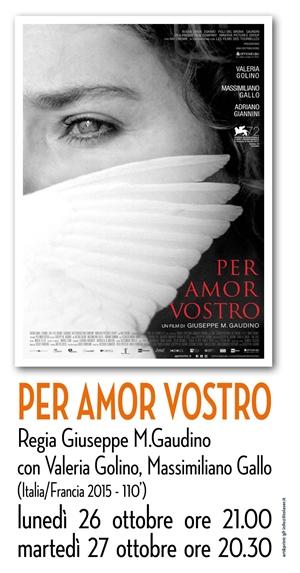 RICCIONE CINEMA D'AUTORE : PER AMOR VOSTRO