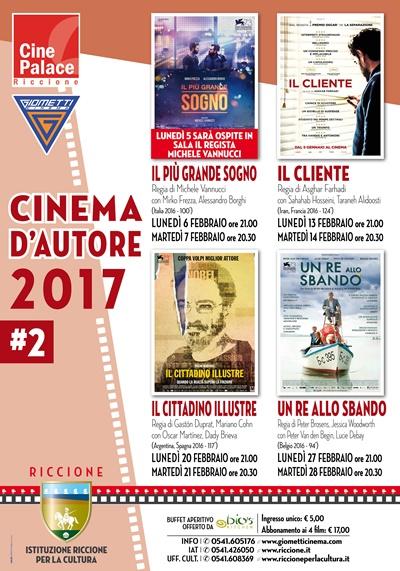 Riccione cinema d'autore:febbraio