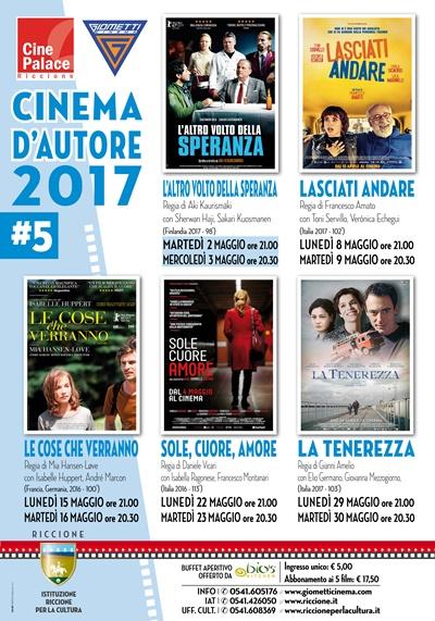 Riccione cinema d'autore: MAGGIO