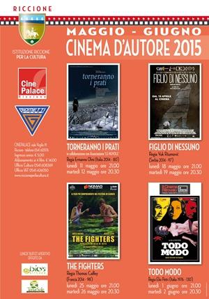 RICCIONE CINEMA D'AUTORE : MAGGIO