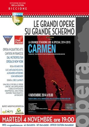 GRANDE MUSICA SU GRANDE SCHERMO: CARMEN