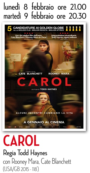 RICCIONE CINEMA AUTORE: CAROL