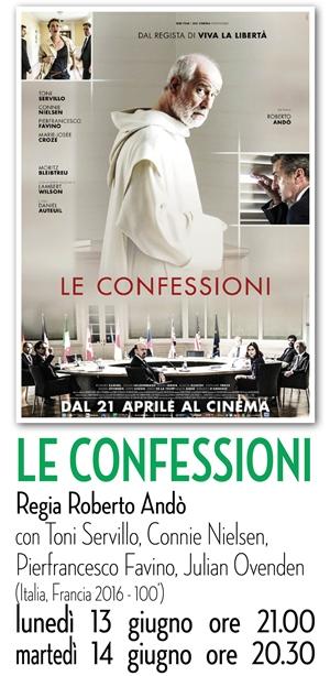 RICCIONE CINEMA AUTORE : LE CONFESSIONI