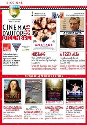 RICCIONE CINEMA D'AUTORE : dicembre 2015