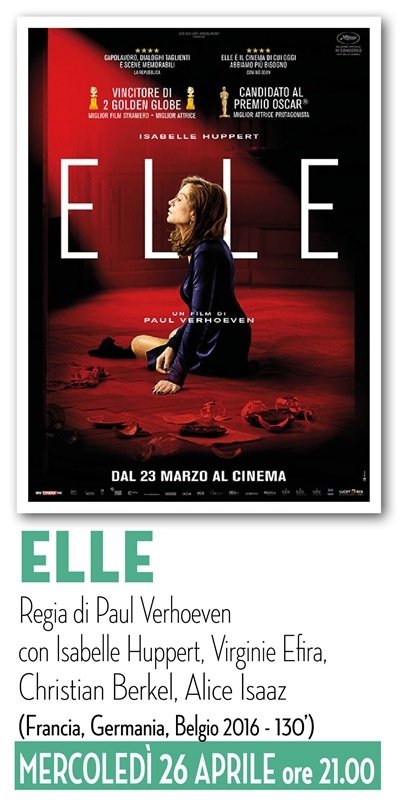Riccione cinema d'autore: ELLE
