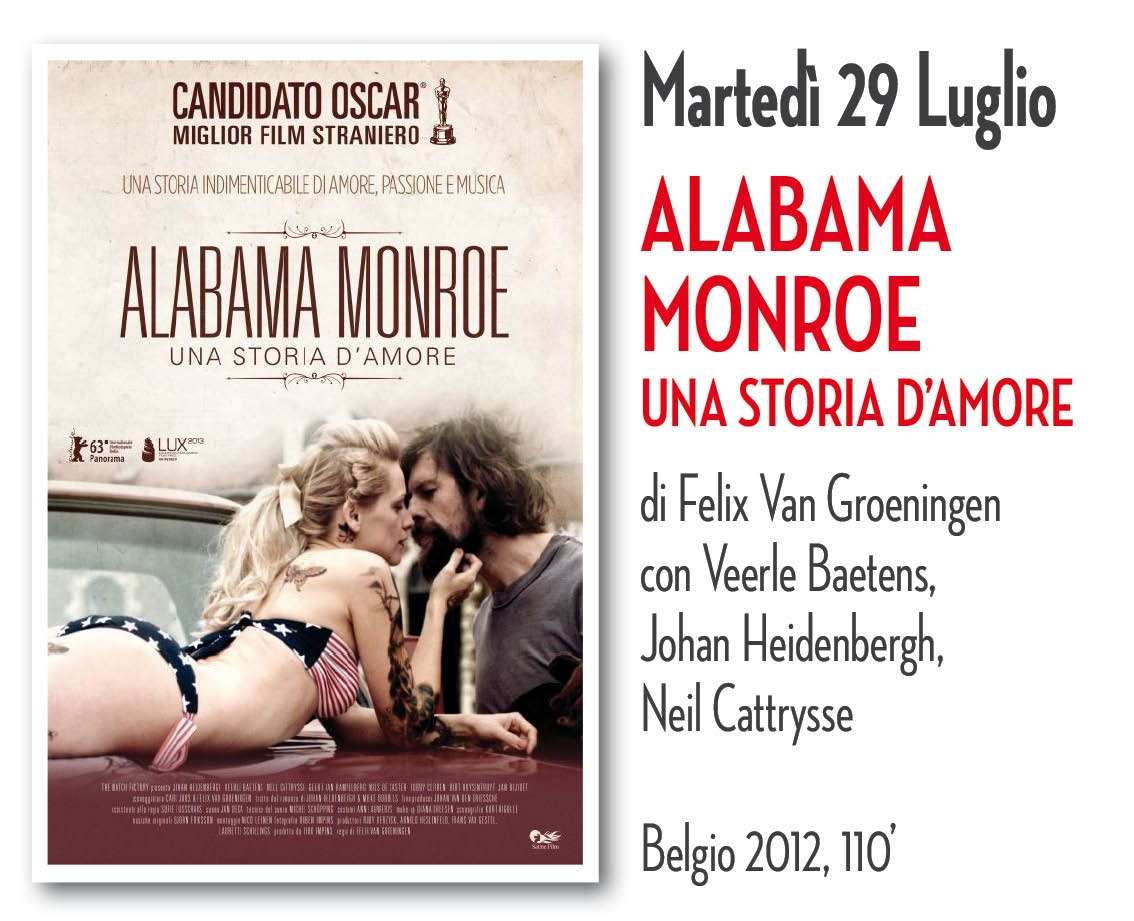 CINEMA IN GIARDINO 2014: ALABAMA MONROE
