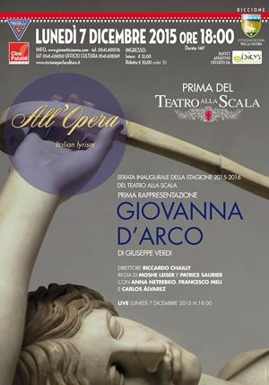 """In diretta la """"PRIMA"""" della Scala - GIOVANNA D'ARCO di Giuseppe Verdi"""