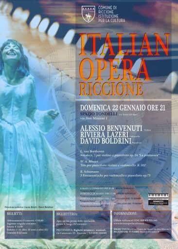 ITALIAN OPERA TOUR- concerto di musica da camera