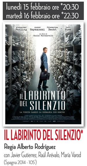 RICCIONE CINEMA AUTORE: IL LABIRINTO DEL SILENZIO