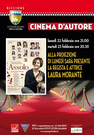 RICCIONE CINEMA AUTORE RED CARPET : ASSOLO