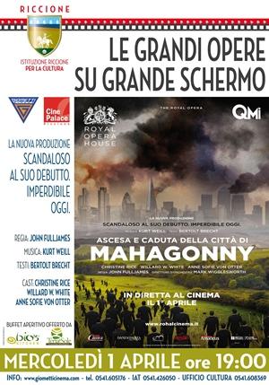 GRANDE MUSICA SU GRANDE SCHERMO: MAHAGONNY