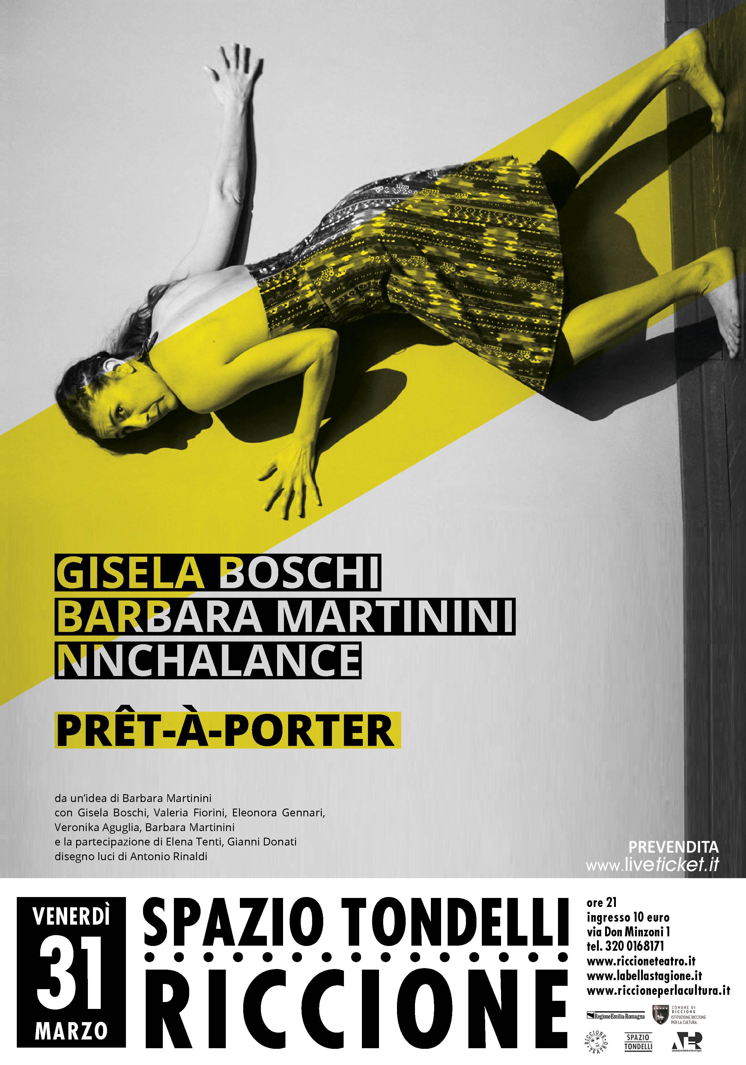 """LA BELLA STAGIONE: NON CHALANCE in """"PRET A PORTER"""""""