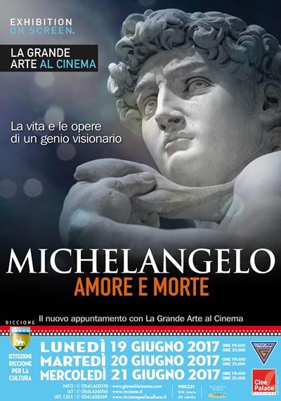 GRANDE ARTE SU GRANDE SCHERMO: MICHELANGELO Amore e morte