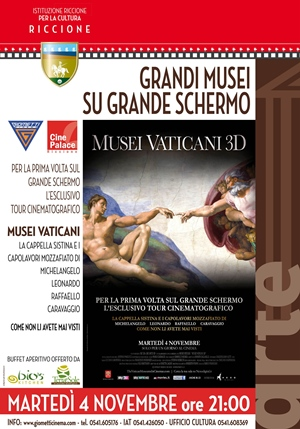 GRANDE ARTE SU GRANDE SCHERMO : MUSEI VATICANI