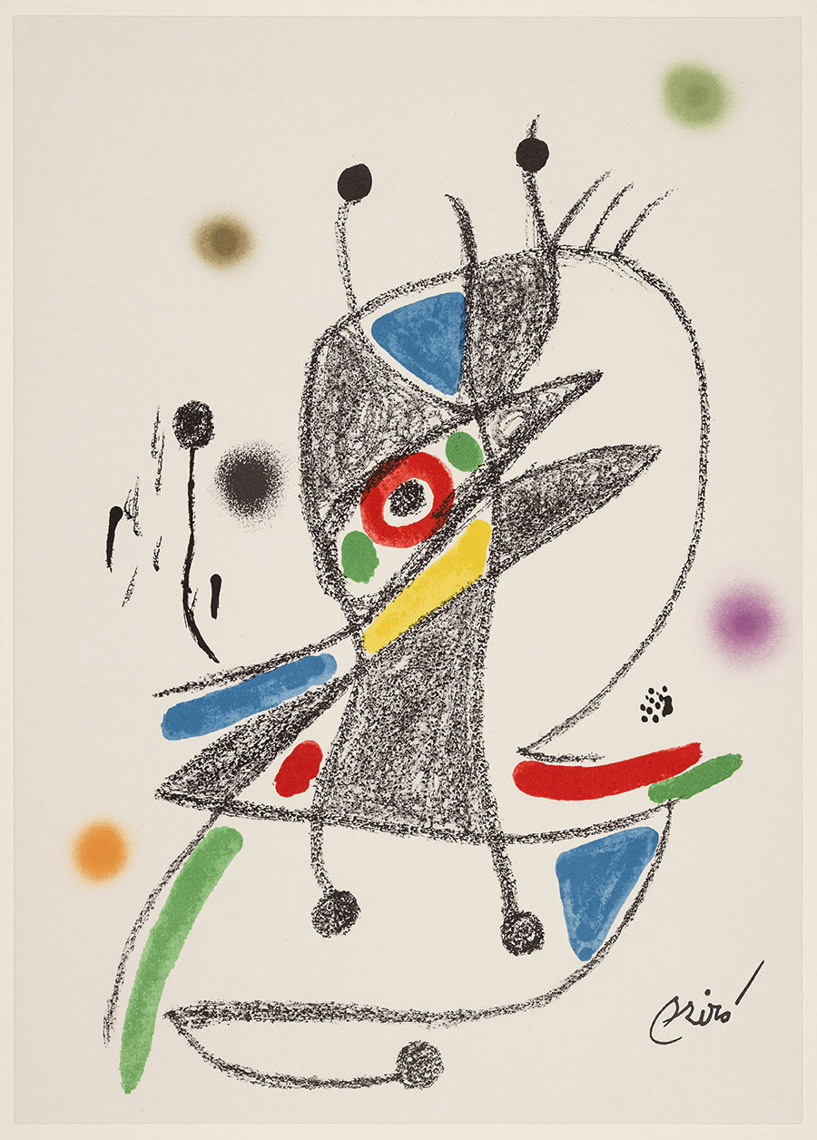 Joan Mirò Opera grafica 1962-1976
