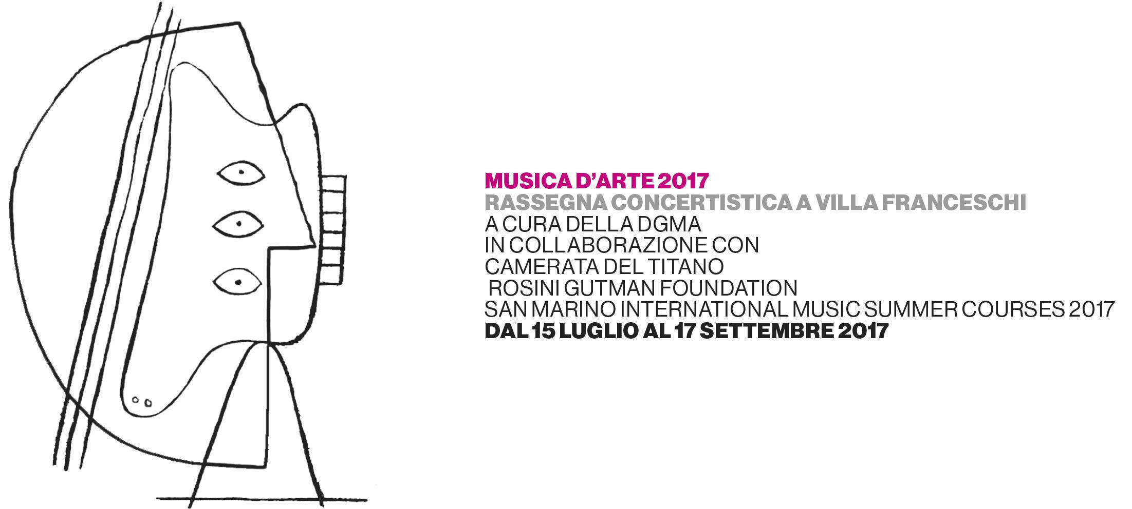MUSICA D'ARTE 2017 - II° edizione