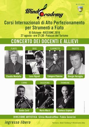CONCERTO DEI DOCENTI DEI CORSI DI ALTO PEFEZIONAMENTO MUSICALE