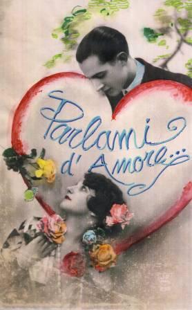 Parlami d'amore...L'amore ai tempi delle cartoline