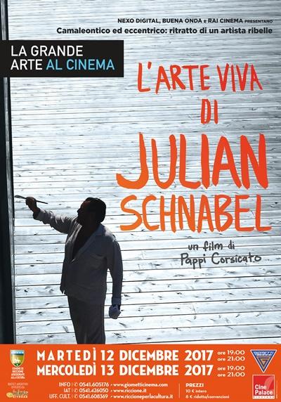 GRANDE ARTE SU GRANDE SCHERMO:JULIAN SCHNABEL