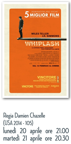 RICCIONE CINEMA D'AUTORE : WHIPLASH