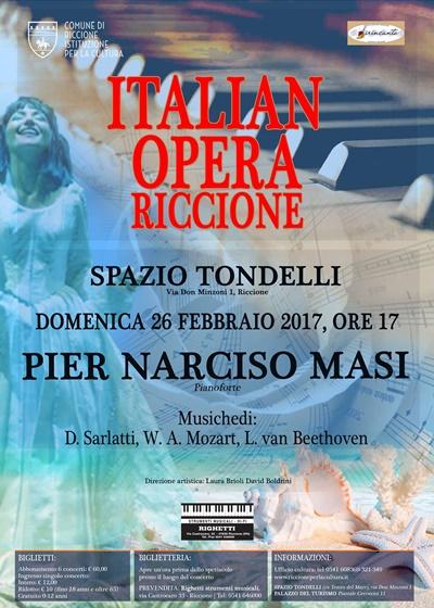 italian opera tour: CONCERTO PIANISTICO DI PIER NARCISO MASI