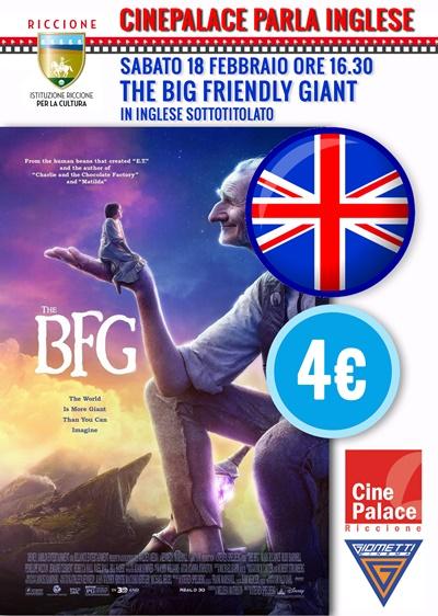 CINEPALACE PARLA INGLESE: GGG Grande Gigante Gentile