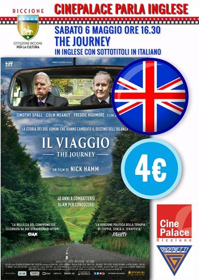 CINEPALACE PARLA INGLESE: IL VIAGGIO versione sottotitolata