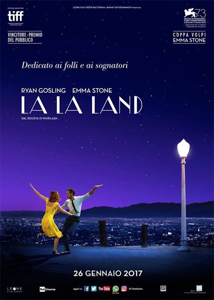 CINEMA IN GIARDINO: LA LA LAND