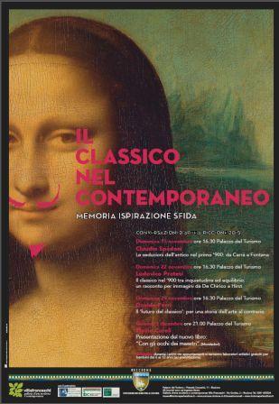 Ciclo di conversazioni d'arte - IL CLASSICO NEL CONTEMPORANEO