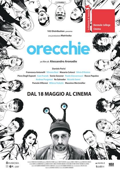 CINEMA IN GIARDINO: ORECCHIE con l'attore DANIELE PARISI