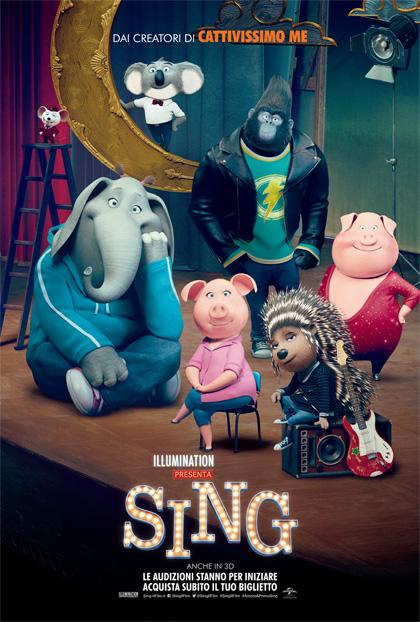 CINEMA IN GIARDINO: SING