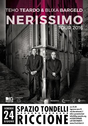 """DIG presenta:Nerissimo Tour 2016 """" Teho Teardo e Blixa Bargeld"""""""