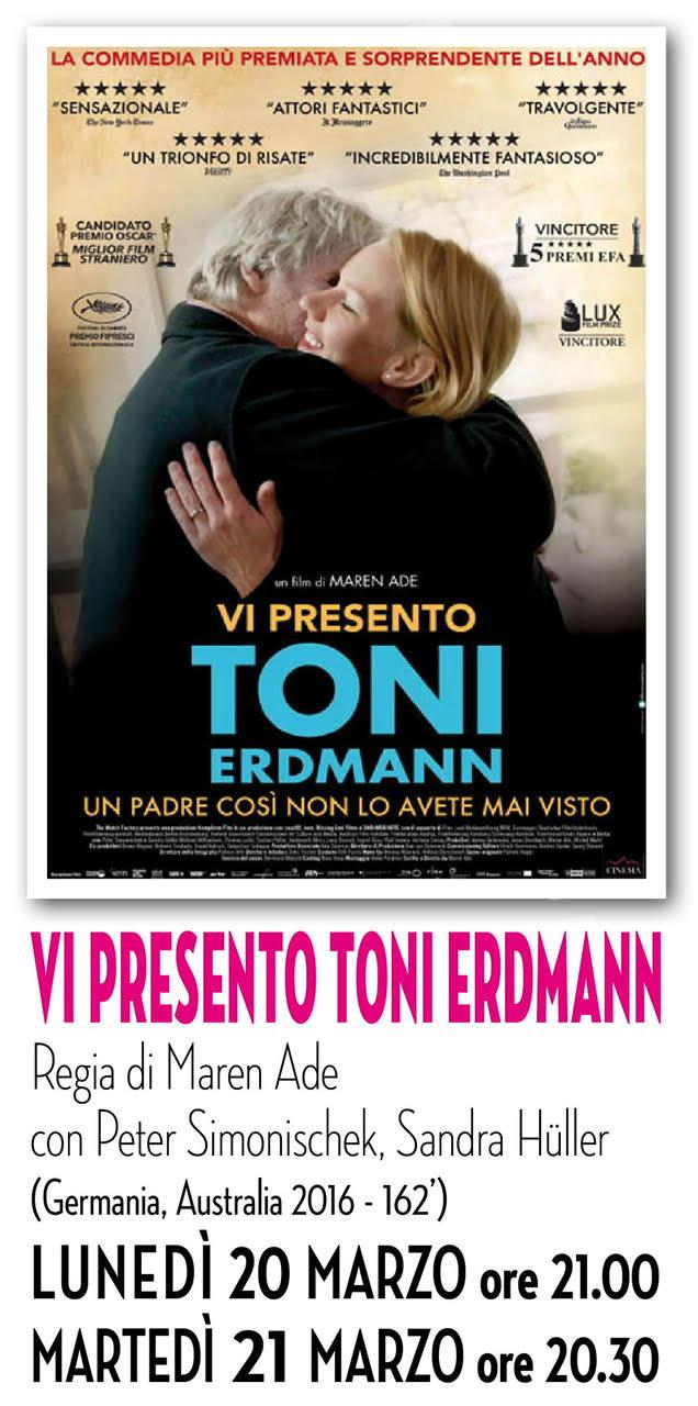 Riccione cinema d'autore: VI PRESENTO TONY ERDMANN